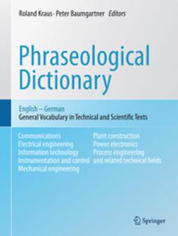 Kraus, Roland - Phraseological Dictionary English - German, ebook
