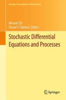 Zili, Mounir - Stochastic Differential Equations and Processes, e-bok