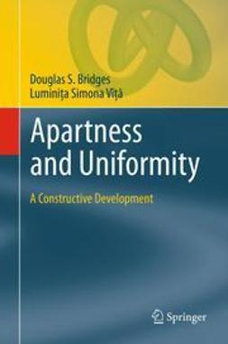 Bridges, Douglas S. - Apartness and Uniformity, ebook