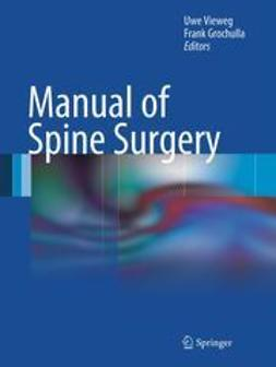 Vieweg, Uwe - Manual of Spine Surgery, e-bok