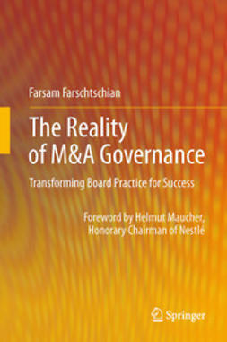 Farschtschian, Farsam - The Reality of M&A Governance, ebook