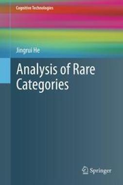He, Jingrui - Analysis of Rare Categories, ebook