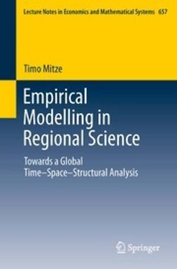 Mitze, Timo - Empirical Modelling in Regional Science, ebook