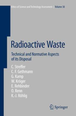 Streffer, Christian - Radioactive Waste, ebook