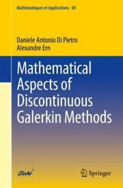 Pietro, Daniele Antonio Di - Mathematical Aspects of Discontinuous Galerkin Methods, ebook