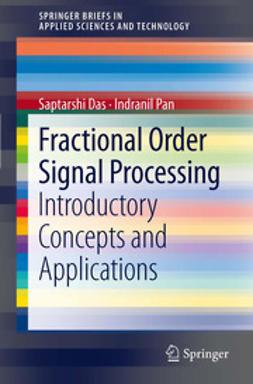 Das, Saptarshi - Fractional Order Signal Processing, ebook