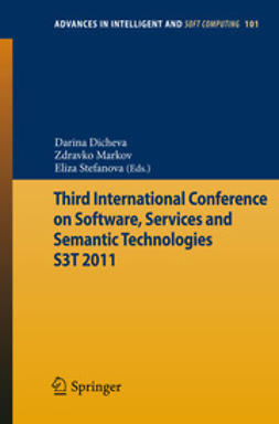 Dicheva, Darina - Third International Conference on Software, Services and Semantic Technologies S3T 2011, ebook
