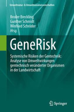 Breckling, Broder - GeneRisk, ebook