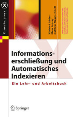 Gödert, Winfried - Informationserschließung und Automatisches Indexieren, ebook