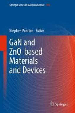 Pearton, Stephen - GaN and ZnO-based Materials and Devices, ebook