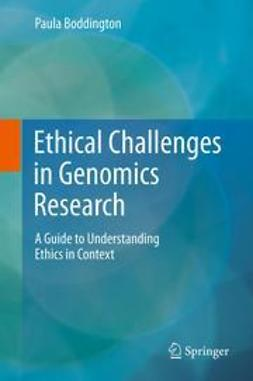 Boddington, Paula - Ethical Challenges in Genomics Research, ebook