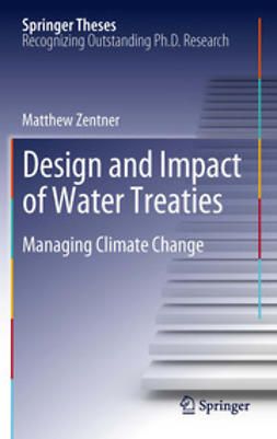 Zentner, Matthew - Design and impact of water treaties, ebook