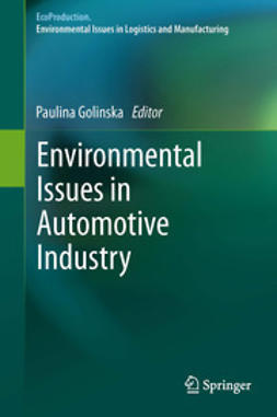 Golinska, Paulina - Environmental Issues in Automotive Industry, e-bok