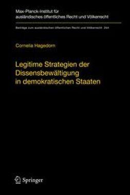 Hagedorn, Cornelia - Legitime Strategien der Dissensbewältigung in demokratischen Staaten, ebook