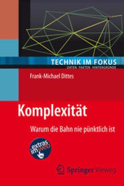 Dittes, Frank-Michael - Komplexität, ebook