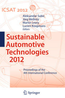 Subic, Aleksandar - Sustainable Automotive Technologies 2012, ebook