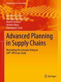 Stadtler, Hartmut - Advanced Planning in Supply Chains, ebook