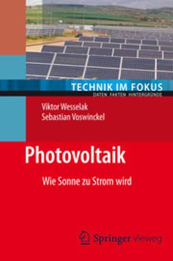 Wesselak, Viktor - Photovoltaik, ebook