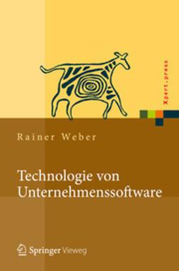 Weber, Rainer - Technologie von Unternehmenssoftware, ebook