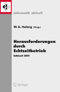 Halang, Wolfgang A. - Herausforderungen durch Echtzeitbetrieb, ebook