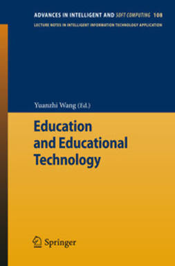 Wang, Yuanzhi - Education and Educational Technology, ebook