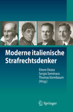 Dezza, Ettore - Moderne italienische Strafrechtsdenker, ebook