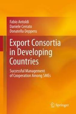 Antoldi, Fabio - Export Consortia in Developing Countries, ebook