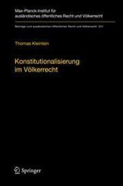 Kleinlein, Thomas - Konstitutionalisierung im Völkerrecht, ebook