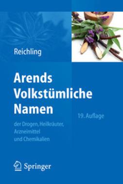 Reichling, Jürgen - Arends Volkstümliche Namen, ebook