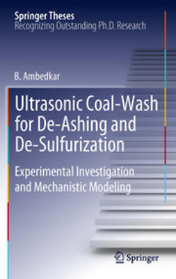Ambedkar, B. - Ultrasonic Coal-Wash for De-Ashing and De-Sulfurization, e-bok