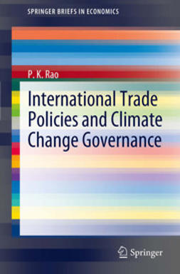 Rao, P.K. - International Trade Policies and Climate Change Governance, ebook