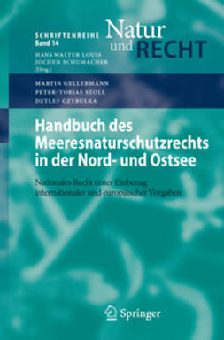 Gellermann, Martin - Handbuch des Meeresnaturschutzrechts in der Nord- und Ostsee, e-kirja