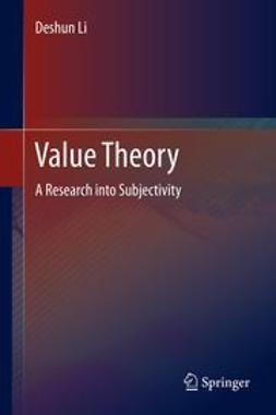 Li, Deshun - Value Theory, ebook