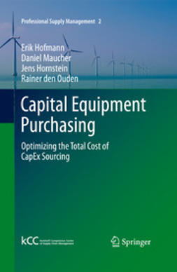 Hofmann, Erik - Capital Equipment Purchasing, ebook