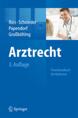 Ries, Hans-Peter - Arztrecht, ebook