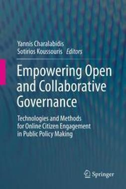 Charalabidis, Yannis - Empowering Open and Collaborative Governance, ebook