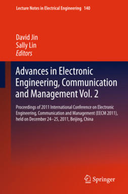 Jin, David - Advances in Electronic Engineering, Communication and Management Vol.2, e-kirja