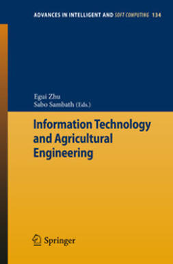 Zhu, Egui - Information Technology and Agricultural Engineering, ebook