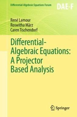 Lamour, René - Differential-Algebraic Equations: A Projector Based Analysis, ebook