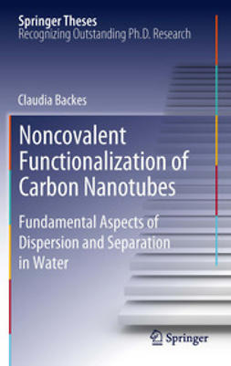 Backes, Claudia - Noncovalent Functionalization of Carbon Nanotubes, ebook