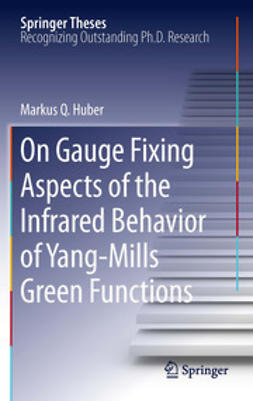 Huber, Markus Q. - On Gauge Fixing Aspects of the Infrared Behavior of Yang-Mills Green Functions, ebook
