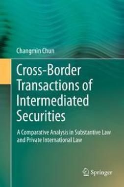 Chun, Changmin - Cross-border Transactions of Intermediated Securities, ebook