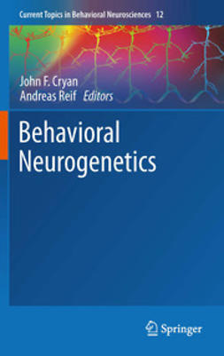 Cryan, John F. - Behavioral Neurogenetics, e-kirja