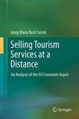 Serrat, Josep Maria Bech - Selling Tourism Services at a Distance, e-kirja