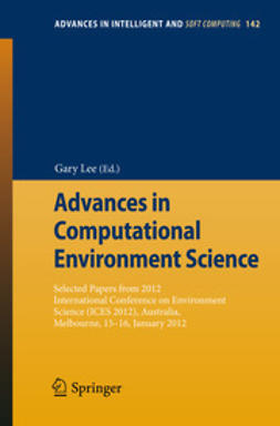Lee, Gary - Advances in Computational Environment Science, ebook