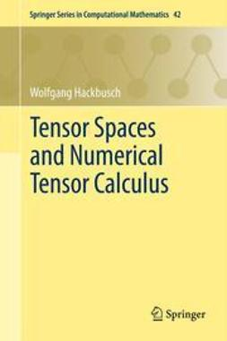 Hackbusch, Wolfgang - Tensor Spaces and Numerical Tensor Calculus, ebook