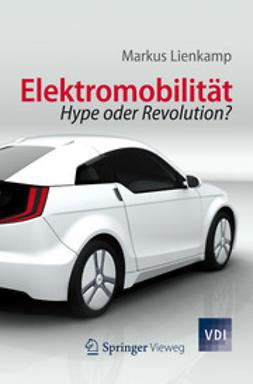 Lienkamp, Markus - Elektromobilität, ebook