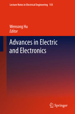 Hu, Wensong - Advances in Electric and Electronics, e-bok