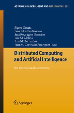 Omatu, Sigeru - Distributed Computing and Artificial Intelligence, ebook