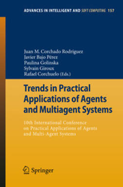 Rodríguez, Juan M. Corchado - Trends in Practical Applications of Agents and Multiagent Systems, e-bok